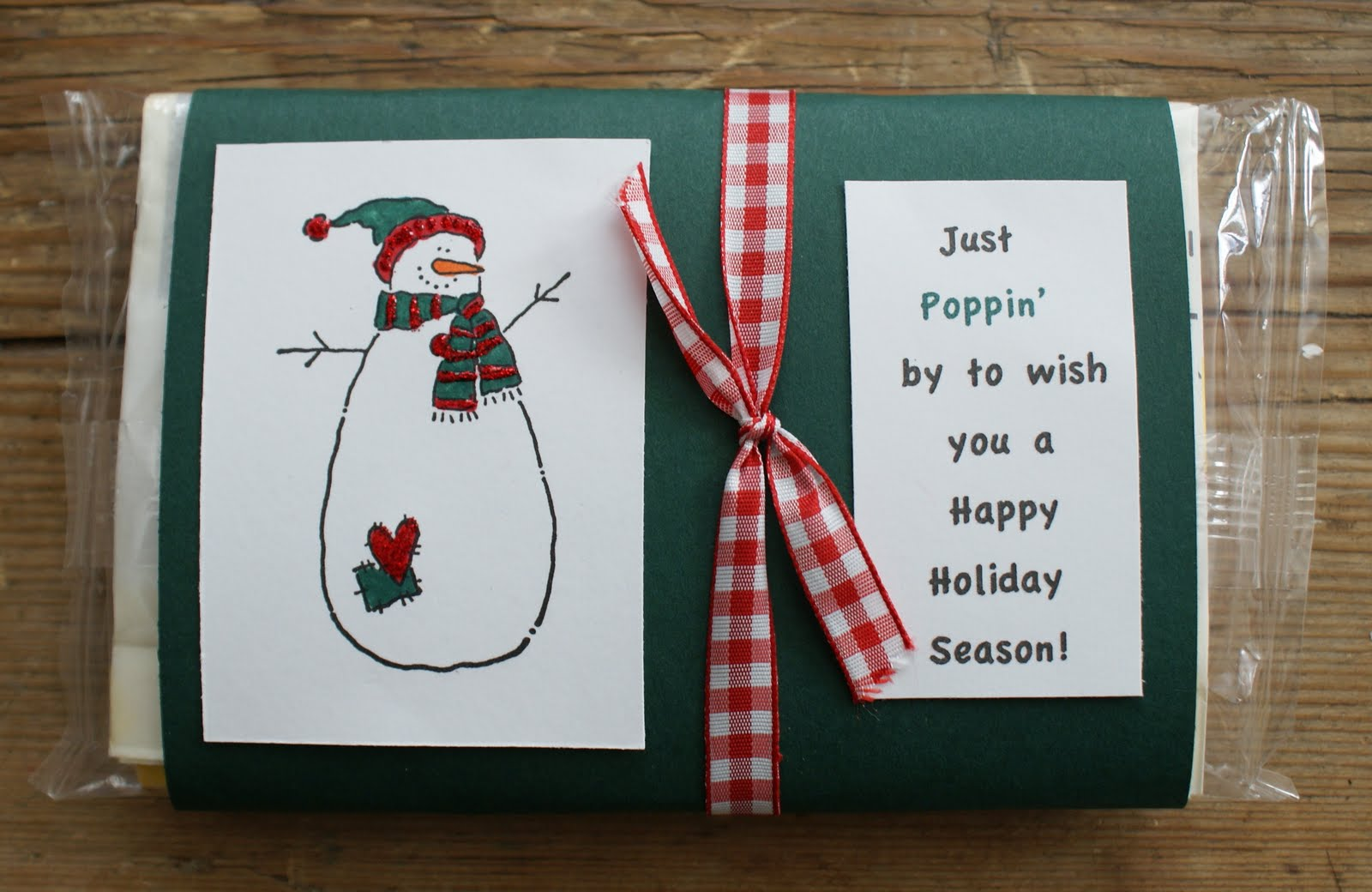 Popcorn wrappers debs heart home snowman popcorn wrappers pronofoot35fo Choice Image