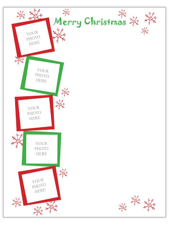 Free Christmas Letter Templates at BHG.com